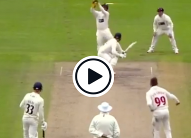 Watch: Marnus Labuschagne bowls a bouncer in the County Championship