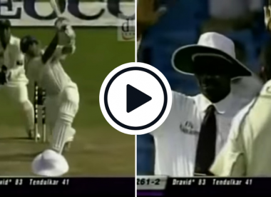 Watch: Dravid trolls Arun Lal by hitting unexpected six against Kaneria