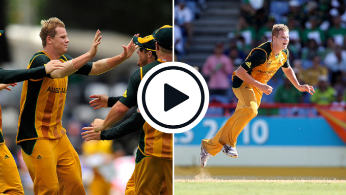 Watch: Leggie Steve Smith's 'Player Of The Match' spell from 2010 T20 World Cup