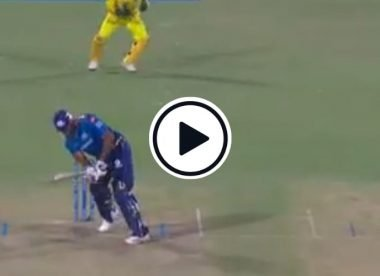Watch: Kieron Pollard plays an effortless 'Natmeg' to kickstart heist in final over