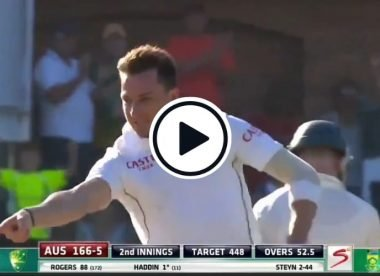 Watch: Dale Steyn's reverse swing blows away famed Australia middle order