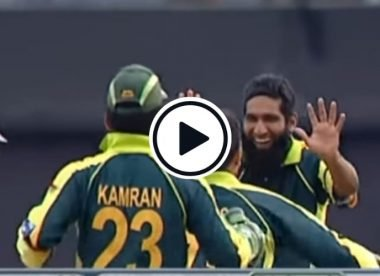 Watch: The wicket which gave Mohammad Yousuf an international bowling average of 4