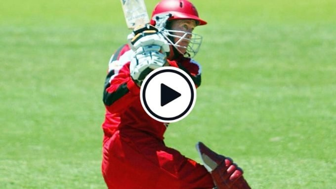Watch: The Andy Flower six in Australia that fetched him $50,000