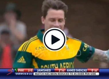 Watch: Dale Steyn's perfect setup to dismiss Nasir Jamshed