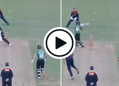 Watch: Josh Inglis unleashes unique reverse swat in T20 Blast
