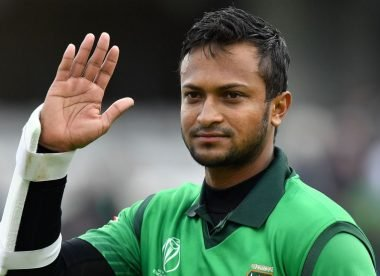 Shakib's apology for smashing down the stumps twice in a T20 game is unintentionally hilarious