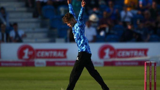 Archie Lenham, the 16-year-old leg-spinner making waves in the T20 Blast