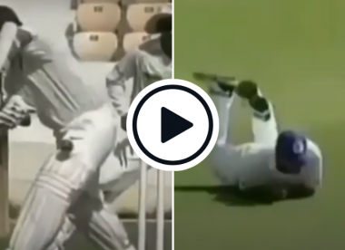 Watch: Tendulkar gets dismissed for a duck for the first and last time in Ranji Trophy