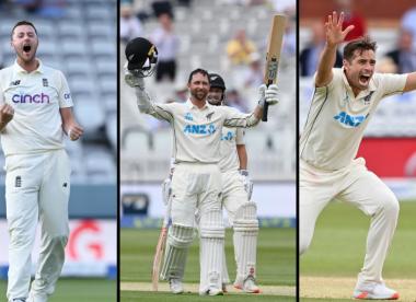 Wisden's combined England-New Zealand Test XI