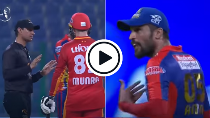 Watch: Amir-Iftikhar's Heated Exchange Turns Into Full-Blown Clash In PSL