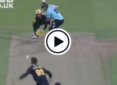 Watch: Labuschagne snares Overton with filthy loosener in T20 Blast