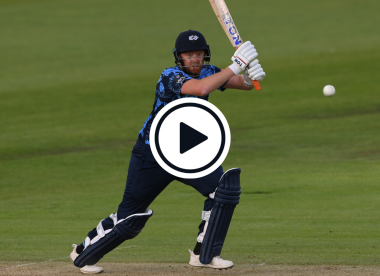 Watch: Injured Jonny Bairstow smashes incredible T20 Blast century on one leg
