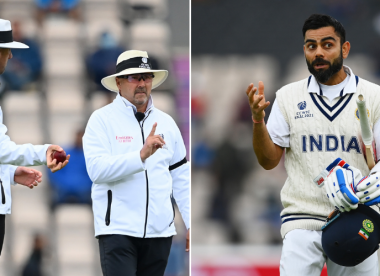 Confusion reigns after UltraEdge used in umpire review of Kohli caught-behind decision