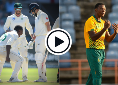 Watch: Rabada almost recreates infamous Root celebration, but stops just short