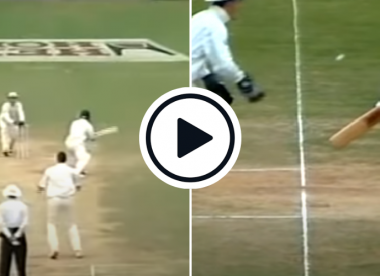 Watch: Sachin Tendulkar gets stumped for the first and last time in his Test career