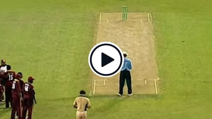 Watch: New Zealand edge West Indies in the first ever bowl-out in a tied T20I game