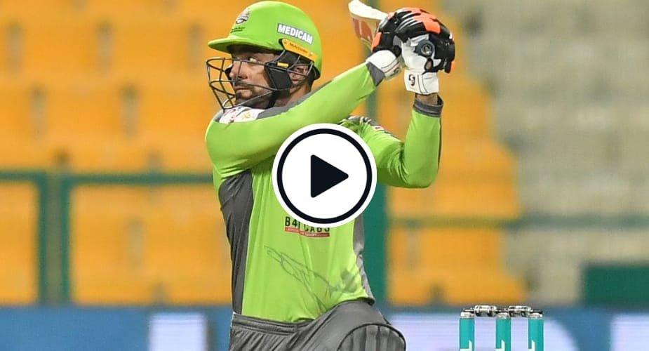 Rashid Khan smashed a hat-trick of fours