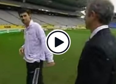 Watch: 'You're an idiot' - The Stephen Fleming-Mark Richardson prank that was erroneously reported as news