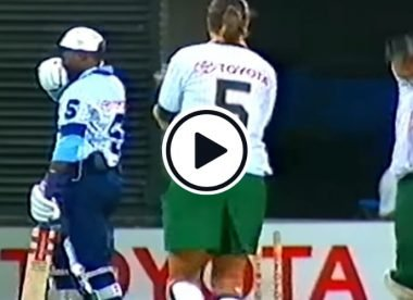 Watch: Australia cricketer Zoe Goss dismisses Brian Lara twice in one ball in a charity game in 1994
