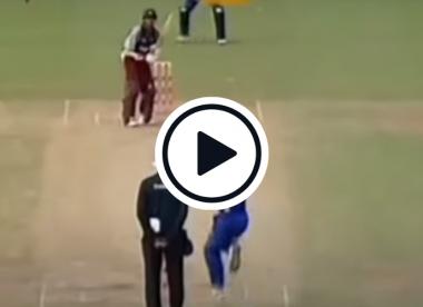When Shivnarine Chanderpaul smashed a last-ball six off Chaminda Vaas to win WI an ODI
