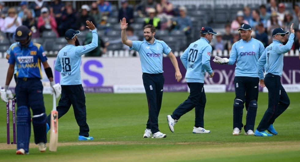 England Sri Lanka team