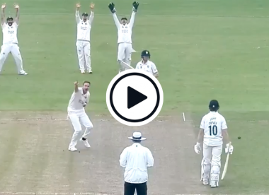 Watch: Stuart Broad dismisses Cameron Bancroft with questionable lbw decision in County Championship