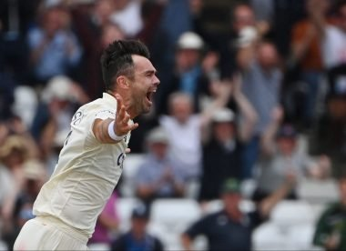 James Anderson's latest invention, the swinging wobble-seamer, demonstrates his restless, relentless greatness