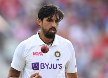 When it comes to overseas Tests, it's Ishant versus no one for India
