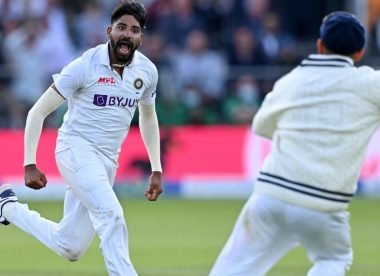 India have found a special bowler in Mohammed Siraj