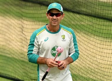 Under fire in the media and unbacked by players: Justin Langer's job is in danger