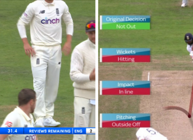 Did Joe Root's too-late review deprive England of Rohit Sharma wicket?
