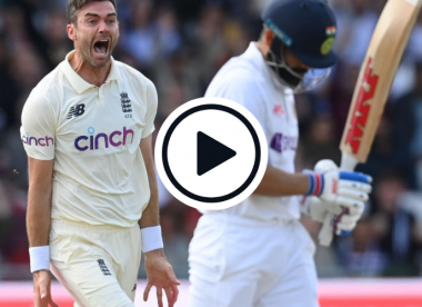 Watch: Anderson snares Kohli in fiery opening spell, dismisses him a record seventh time