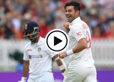 Watch: James Anderson nicks off Ajinkya Rahane with gorgeous away-swinger