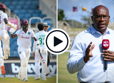 Watch: Ian Bishop nails the moment yet again as West Indies win one of the greatest Tests ever