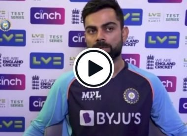 Watch: 'Remarkable self control' - Virat Kohli deflects journo's 'back-foot' advice in press conference
