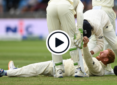 Watch: Jonny Bairstow takes stunning one-handed slip catch from in front of Joe Root