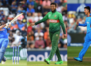 The current combined Asia ODI XI, according to the ICC rankings