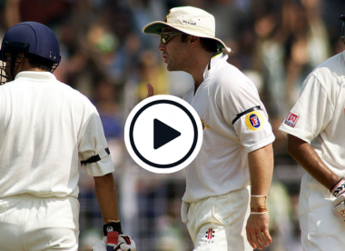 Watch: Rahul Dravid engages in rare verbal clash with enraged Michael Slater after low-catch controversy