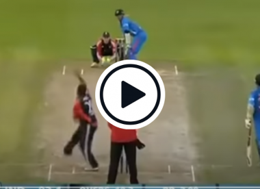 Watch: Rahul Dravid hits three consecutive sixes in his first and last T20I appearance