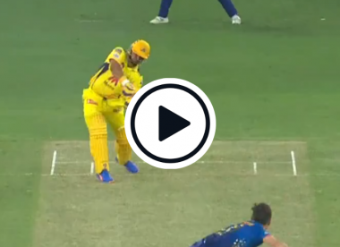 Watch: Suresh Raina gets out and breaks bat with horror shot