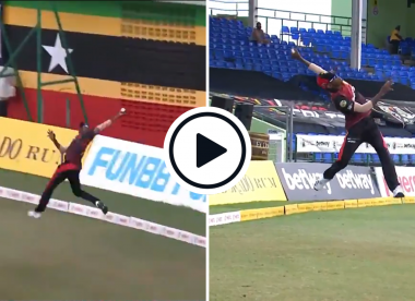 Watch: Akeal Hosein takes outrageous one-handed catch in CPL 2021