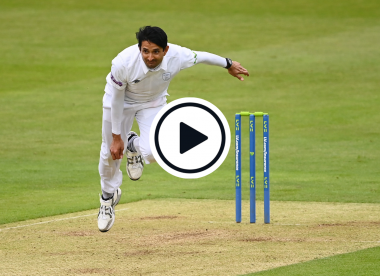 Watch: Mohammad Abbas rips through County Championship table-toppers to claim miserly five-for