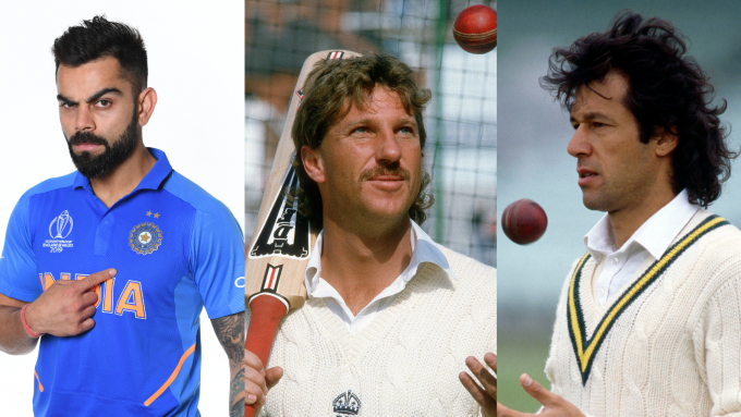 The all-time all-format world XI, based on the ICC rankings