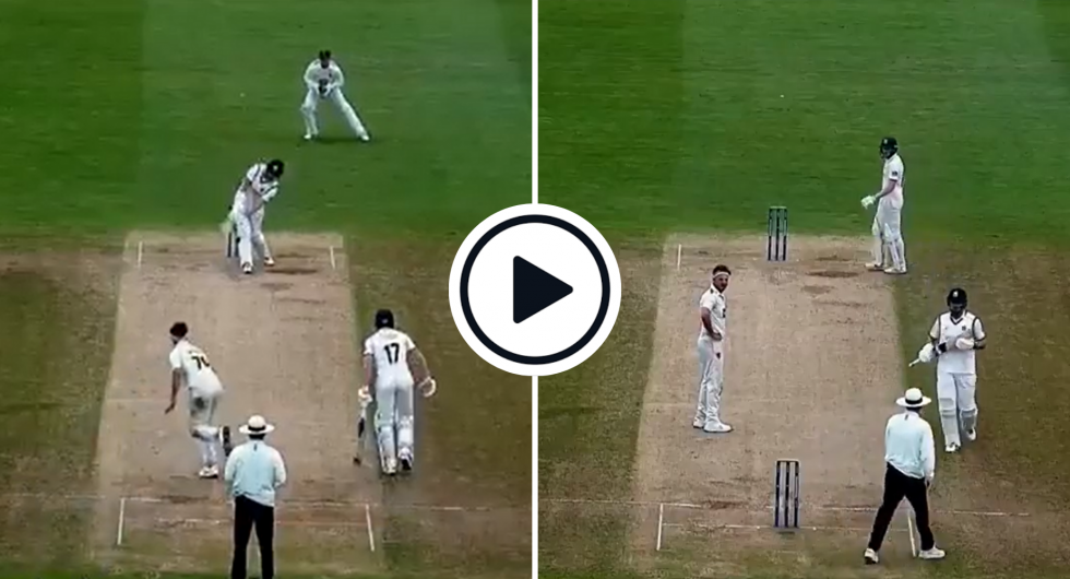 Watch: County Umpire Raises Finger For LBW Appeal, Changes Mind, Signals Leg Bye Instead In Championship Title Decider