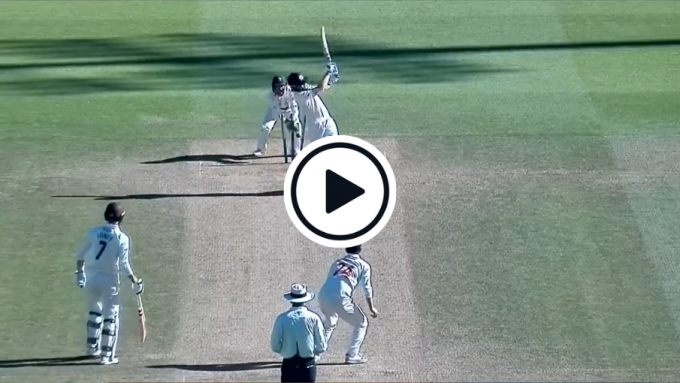 Watch: Ollie Pope denied maiden triple century by part-timer with, before today, no first-class wickets