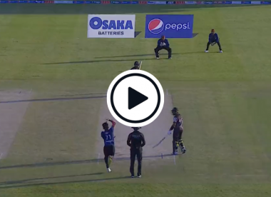 Watch: Naseem Shah thrills with scintillating high speed over, dismisses Fakhar with pinpoint yorker and has Rizwan in knots