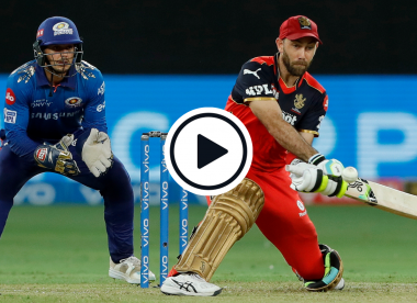 Watch: Glenn Maxwell reverses rapid fast bowler for six, helicopters Bumrah in sensational switch-hit filled knock