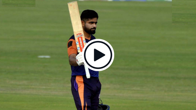 Watch: Babar Azam creams glorious, record-breaking T20 hundred against all-international attack
