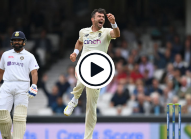 Watch: James Anderson prises vital breakthrough with wobble-seaming beauty