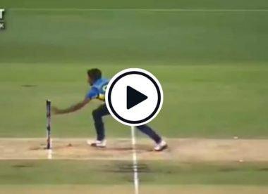Watch: Steve Smith laughs out loud after Lakshan Sandakan's makes horrible run out error